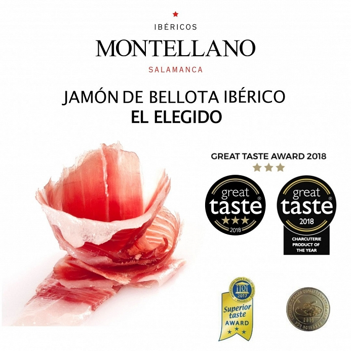 Great Taste Awards 2018 - Jamón de Bellota Ibérico